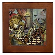 the game framed tile