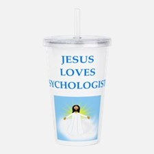 psychologist Acrylic Double-wall Tumbler