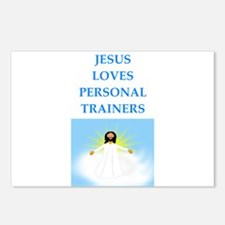 personal trainer Postcards (Package of 8)