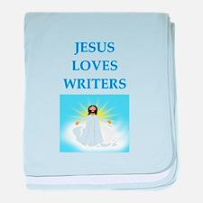 jesus loves baby blanket