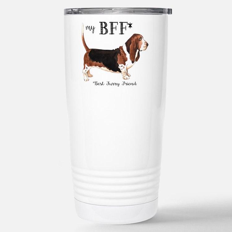 Basset BFF Travel Mug