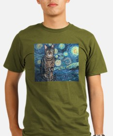 """Starry Night Life"" T-Shirt"