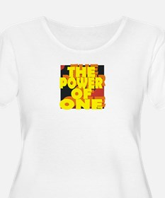 The Power of One Plus Size T-Shirt