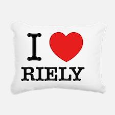 Funny Rie Rectangular Canvas Pillow