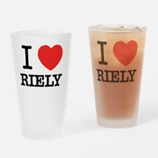 Funny Rie Drinking Glass