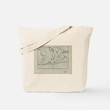 Cool Map of florida Tote Bag