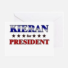 KIERAN for president Greeting Card