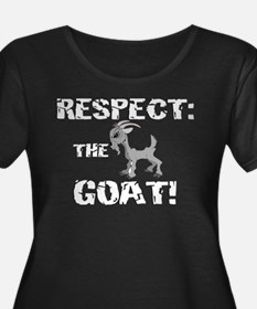 Goat-Respect-grungeDK Plus Size T-Shirt