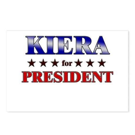 KIERA for president Postcards (Package of 8)