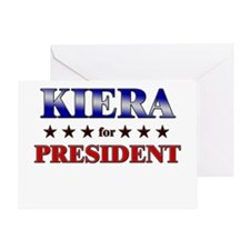 KIERA for president Greeting Card