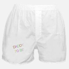 DADDY TO BE COLORFUL Boxer Shorts