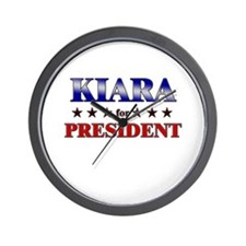 KIARA for president Wall Clock