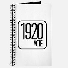 1920 VOTE Journal