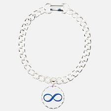 Infinity Symbol Charm Bracelet, One Charm