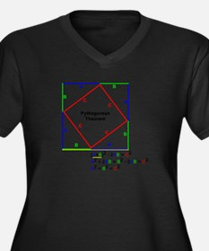 Pythagorean Theorem Proof Plus Size T-Shirt