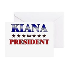 KIANA for president Greeting Card