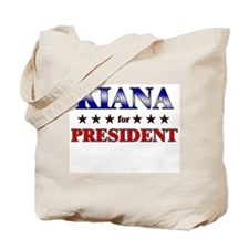 KIANA for president Tote Bag