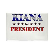 KIANA for president Rectangle Magnet