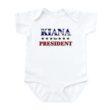 KIANA for president Infant Bodysuit