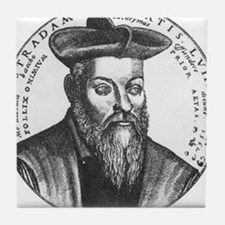 Nostradamus Tile Coaster