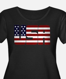 USAStarsAndStripes Plus Size T-Shirt