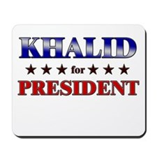 KHALID for president Mousepad