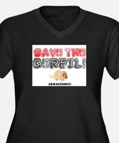 SAVE THE GERBIL - ARMAGEDDON! Plus Size T-Shirt