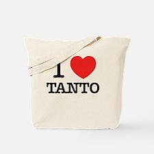 Cute I love Tote Bag