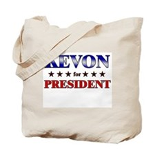 KEVON for president Tote Bag