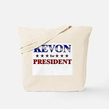 KEVON for president Tote Bag