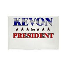 KEVON for president Rectangle Magnet