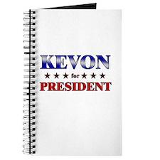 KEVON for president Journal