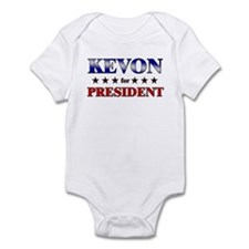 KEVON for president Infant Bodysuit