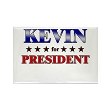 KEVIN for president Rectangle Magnet
