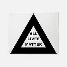 All matter Throw Blanket