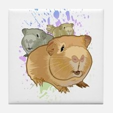 Guinea Pigs Tile Coaster