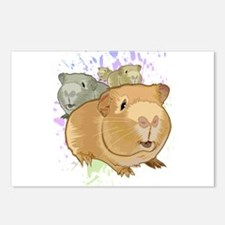 Guinea Pigs Postcards (Package of 8)
