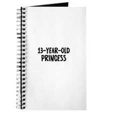 13-Year-Old Princess Journal