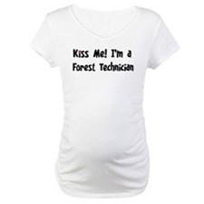 Kiss Me: Forest Technician Shirt