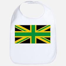 British - Jamaican Union Jack Bib