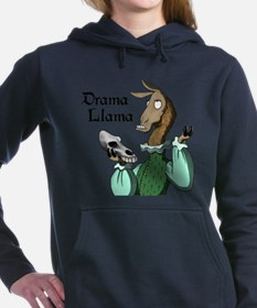 Unique Llamas Women's Hooded Sweatshirt
