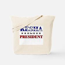 KESHA for president Tote Bag