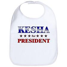 KESHA for president Bib