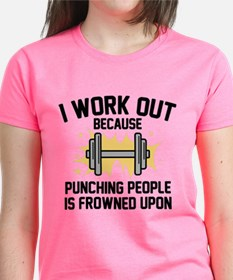 I Work Out Tee