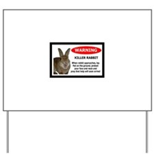 Unique Bunnies Yard Sign