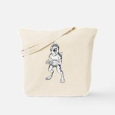 Chupacabra Sketch Tote Bag
