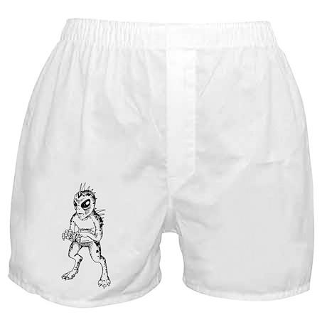 Chupacabra Sketch Boxer Shorts