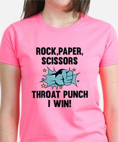 Throat Punch I Win Tee