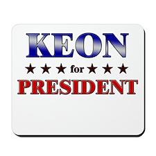 KEON for president Mousepad