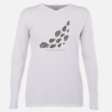 Funny Save Plus Size Long Sleeve Tee